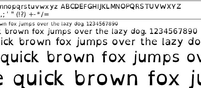 Are You Dyslexic? New Dyslexia Font